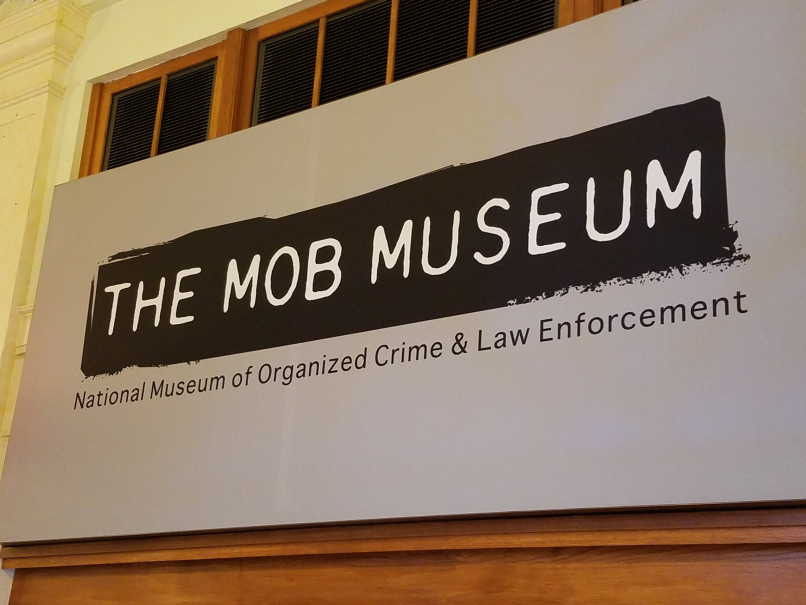 vExpert party at the Mob Museum