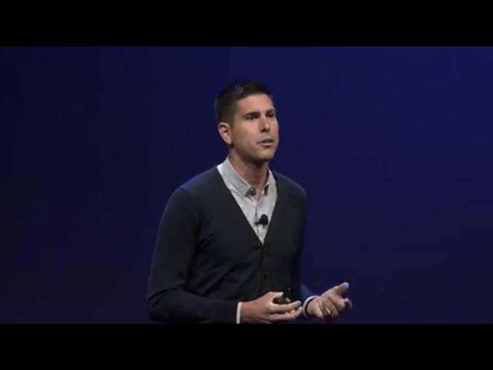 VMware's cloud guru Kit Colbert in the keynote