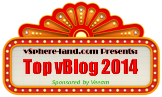 Top vBlog Results and vExperts of 2014
